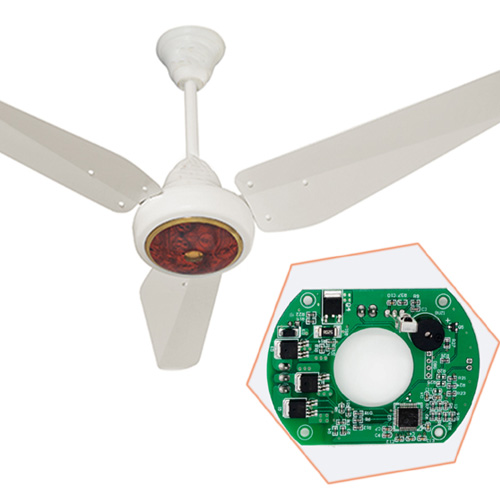 12V DC solar fan circuit card