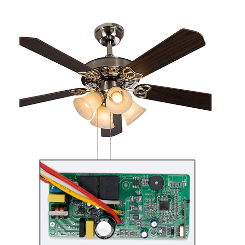 DC LED light ceiling fan driver